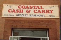 coastal cash and carry sign 2