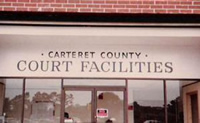 carteret county court facilities building sign