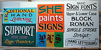 sample sign collection