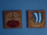 painted plaques