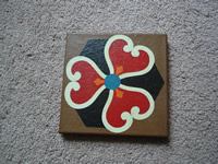 painted tile 1